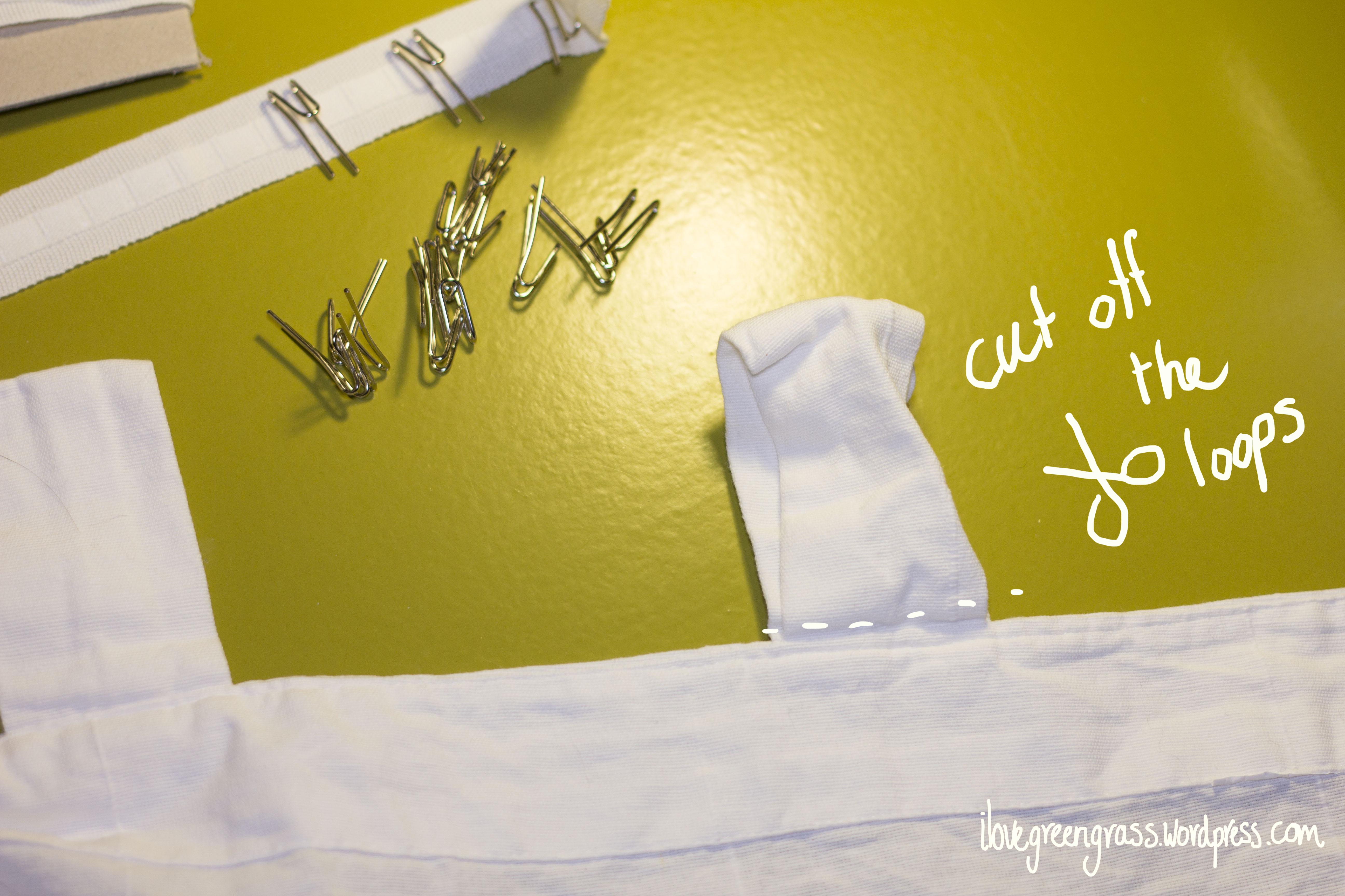 Raise the curtain.... on the curtains - DIY - ilovegreengrass